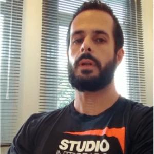 Flávio Gonçalves Pinto - professor e coordenador do Studio Mormaii (unidade Campinas)